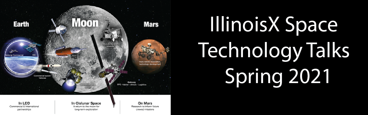 IllinoisX Space Technology Talks Banner